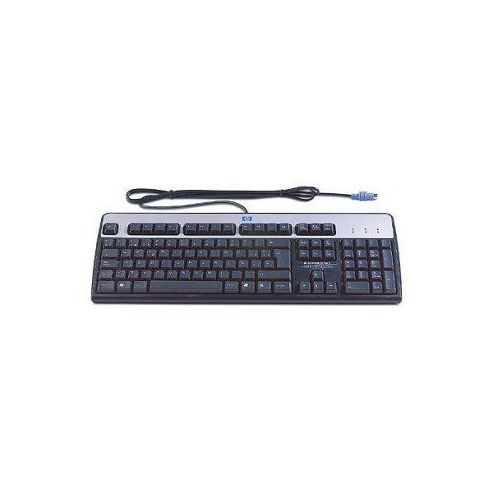 HP Standard Basic Keyboard 2004 PS/2 (Carbonite/Silver) Danish