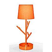 Globen Lighting Hanger One Light Table Lamp - Orange