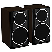 WHARFEDALE DIAMOND 121 BOOKSHELF SPEAKERS (WALNUT PEARL)