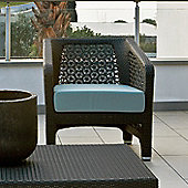 Varaschin Altea Sofa Chair by Varaschin R and D - White - Panama Orange