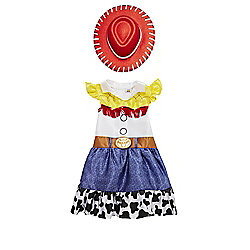 Disney Pixar Toy Story Jessie Dress-Up Costume years 07 - 08 Multi