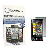 S-Protect LCD Screen Protector & Cleaning Cloth - LG T300 Cookie Lite