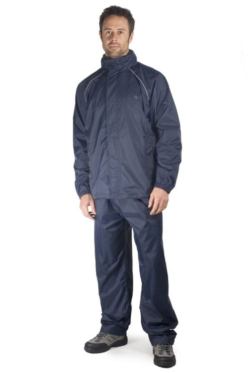 Mens Pakka Waterproof Overtrousers Rainproof Over Trousers