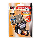 TNB Pack of 3 Screen Protectors 1.5 inch to 4 inch