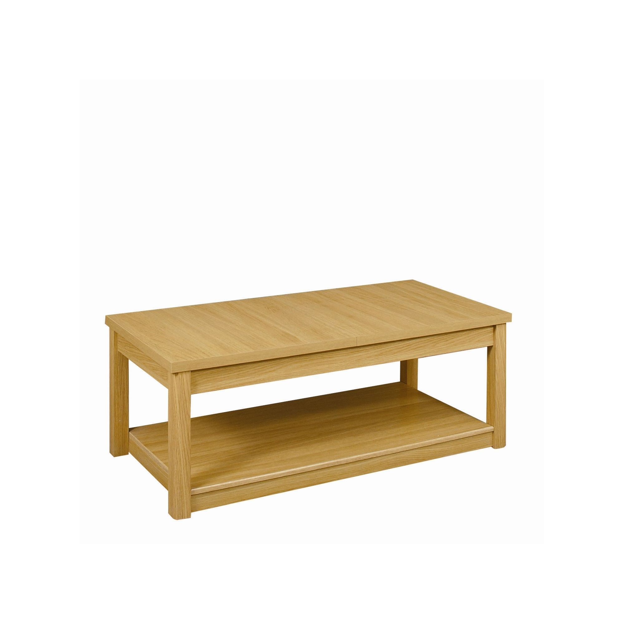 Caxton Huxley Coffee Table in Light Oak at Tesco Direct