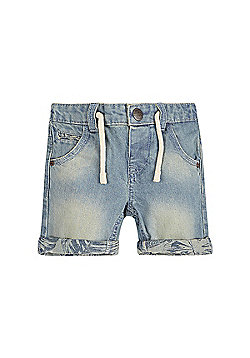 Mothercare Baby Newborn Boy's Denim Shorts Size 12-18 months