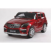 Kids Electric Car Mercedes Benz ML63 12 Volt Red Gloss