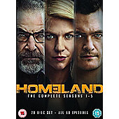 Homeland Season 1-5 DVD