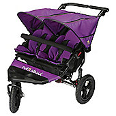 Out n About Nipper Double Pushchair V4, Purple Punch