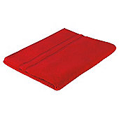 Tesco 100% Combed Cotton Bath Sheet Tomato