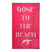 Linea Gone To The Beach Towel
