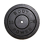 Body Power Cast Iron STANDARD Discs 20kg (x2)