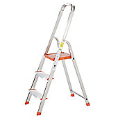 TB Davies Light Duty Aluminium 3 Tread Platform Step Ladder