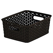 Curver My Style 8L Small Storage Box, Brown