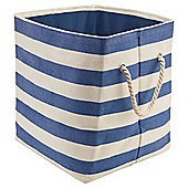 Tesco Kids Navy Stripe Storage Bag