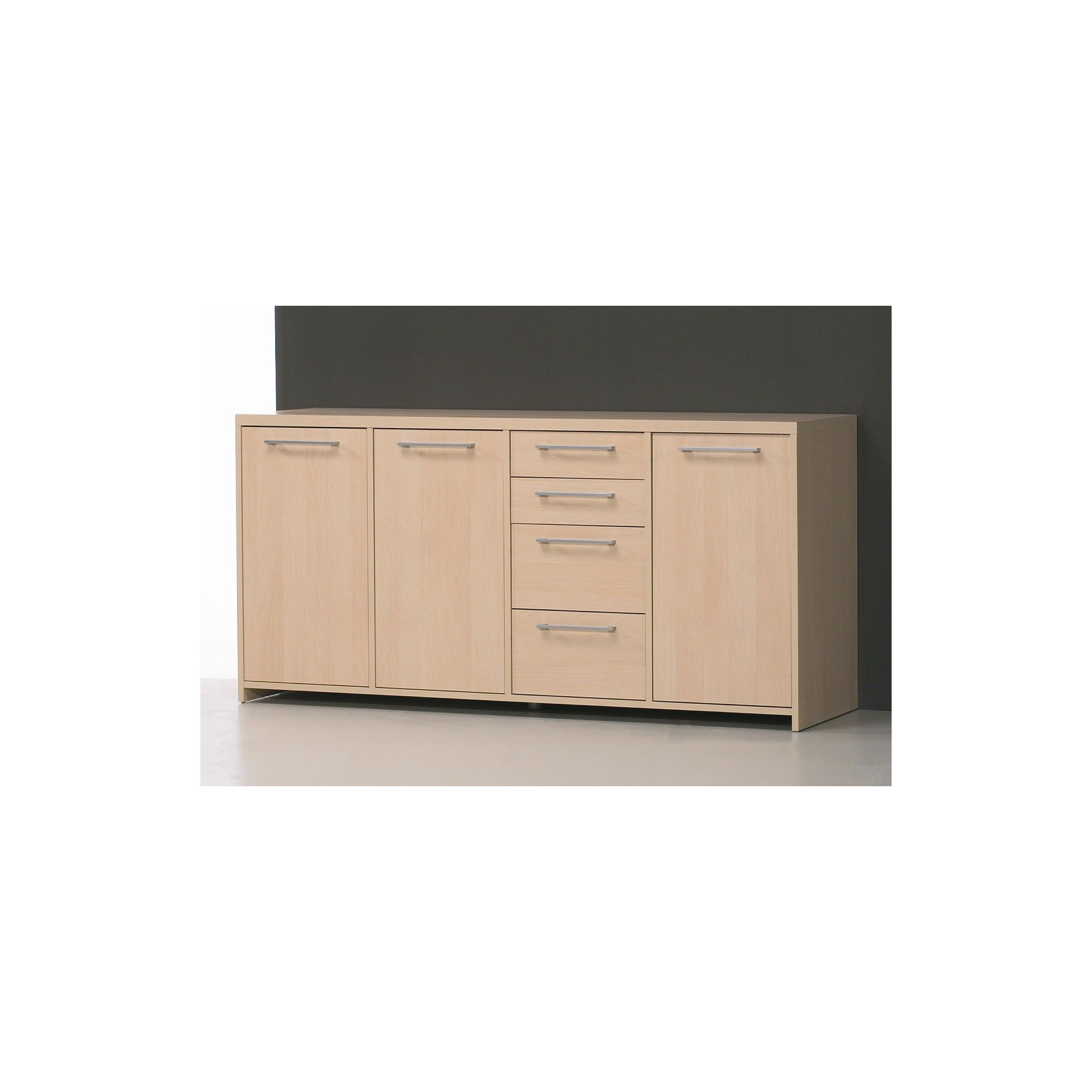 Tvilum Buffer Sideboard in Light Maple - Light Cherry at Tesco Direct