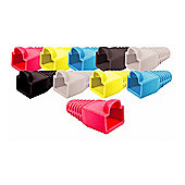 Maplin Mixed Pack of Coloured RJ45 Boots