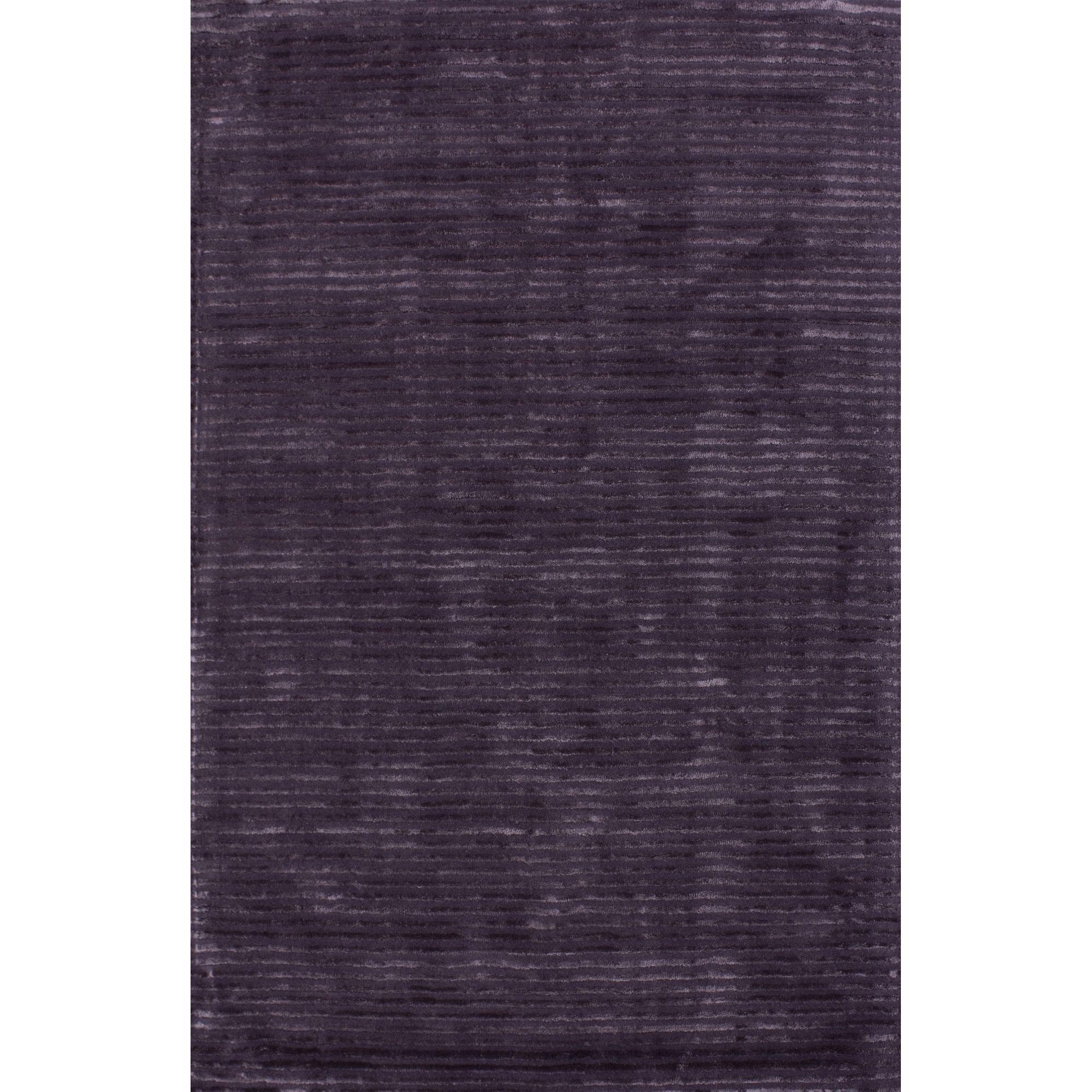 Hill & Co Jubilee Purple Stripe Rug - Runner 240cm x 70cm (7 ft 10.5 in x 2 ft 3.5 in)