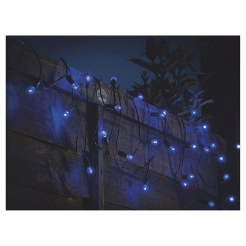 Buy Tesco100 Blue Berry Solar String Light from our Solar Lights range - Tesco