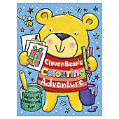 Clever Bear'S Colouring Book A4
