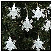 20 Snowflake Christmas Lights
