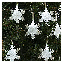 20 Snowflake Christmas Lights
