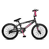 "11"" Rooster GO EASY, 20"" Wheel, Black/Pink"