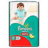 Pampers Baby Dry Pants Size 6 Essential 32