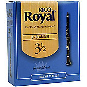 Rico Royal 2 1/2 Bb Clarinet Reeds (x10)