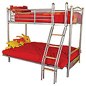 Hyder Alaska Futon Bunk Bed - Denim
