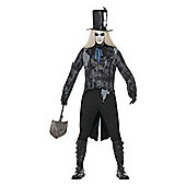 Ghost Town Undertaker - Adult Costume Size: 42-44