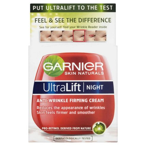 Garnier Ultra Lift Night Cream Pot 50ml