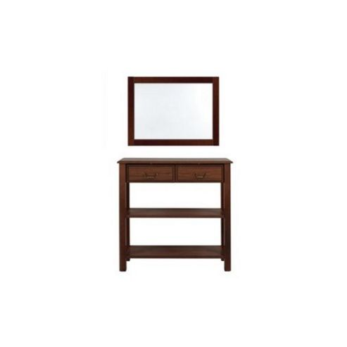 Caxton Byron Console Table Set in Mahogany