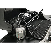 Electric BBQ Light and Universal Rotisserie Kit - 240 volt BBQ Rotisserie