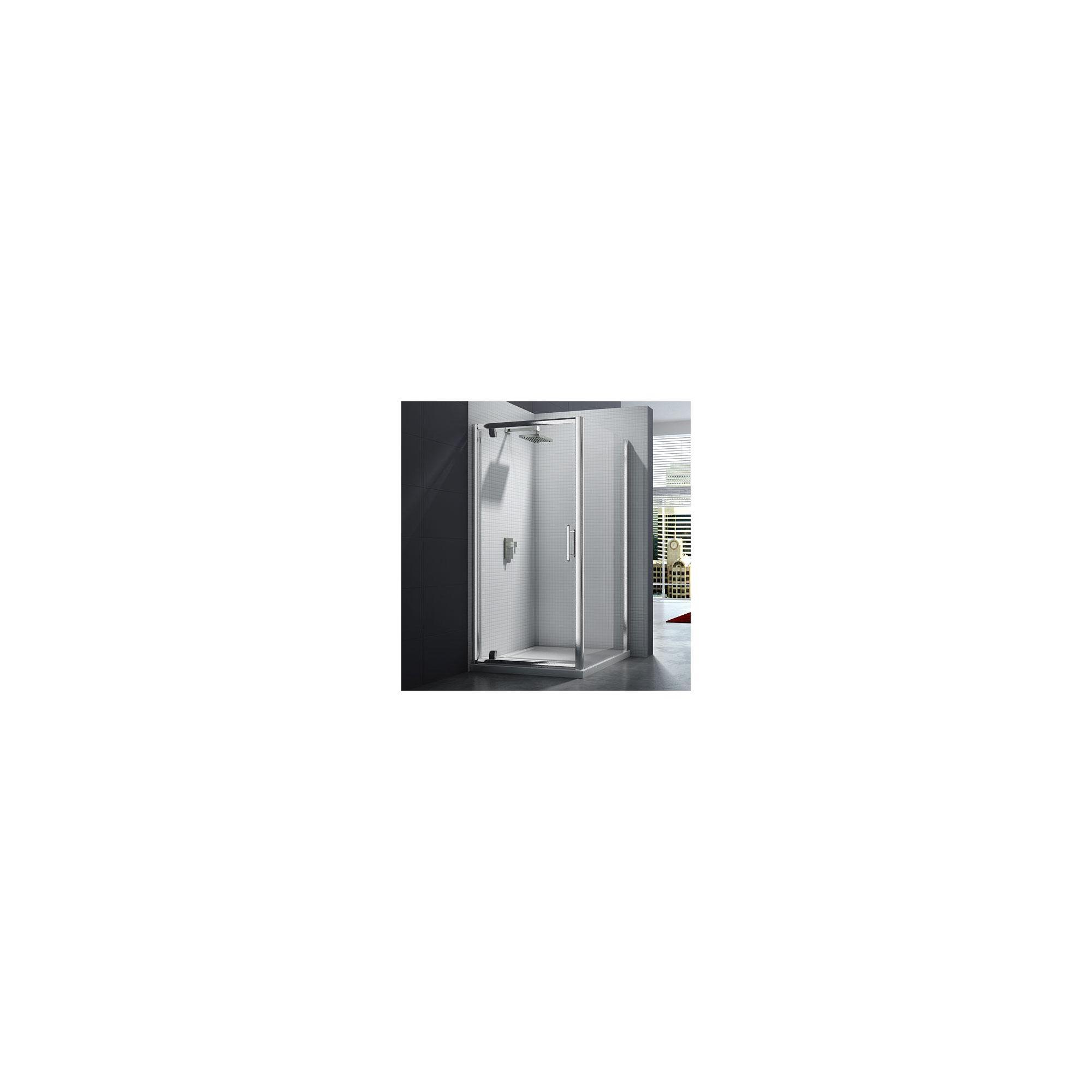 Merlyn Series 6 Pivot Shower Door, 700mm Wide, Chrome Frame, 6mm Glass at Tesco Direct