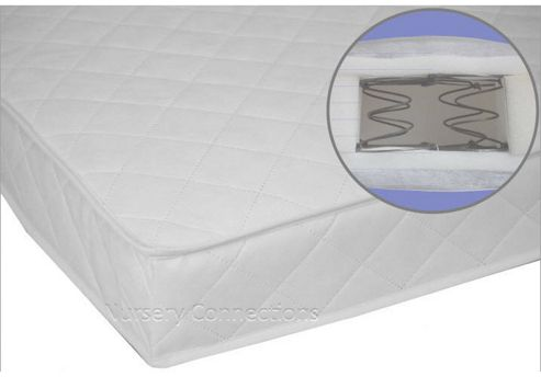 Spring Interior Bound 139x69cm Cot Bed Mattress