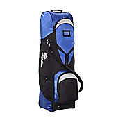 Palm Springs Golf Bag Travel Cover With Wheels Blue