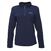 Regatta Ladies Sweethart Half Zip Fleece - Navy