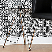 Premier Housewares Tripod Round Side Table