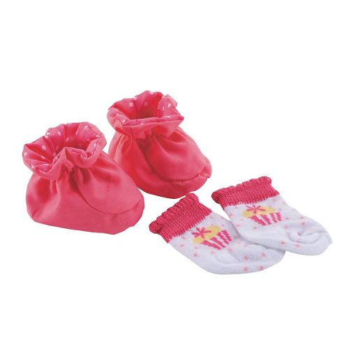 Cup Cake Doll's Shoes and Socks