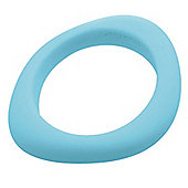 Jellystone Organic Teething Bangle in Aqua Tiffany