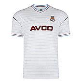 West Ham United 1986 Away Shirt - White & Claret