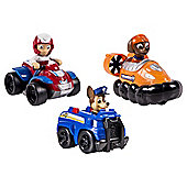 Paw Patrol Racers Chase, Zuma & Ryder Team Pack