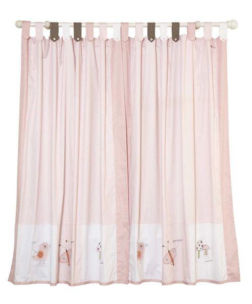 Mamas & Papas - Scrapbook Girls - Tab Top Curtains