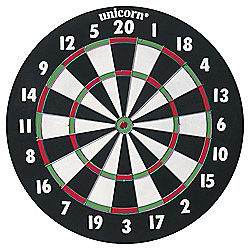 XL Paper Dartboard Double Sided With Darts