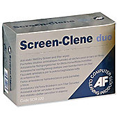 AF Screen-Clene Duo Wet/Dry Anti-Static Cleaning Wipes