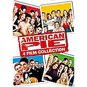 American Pie 1, 2, 3 And Reunion (DVD Boxset & UV)