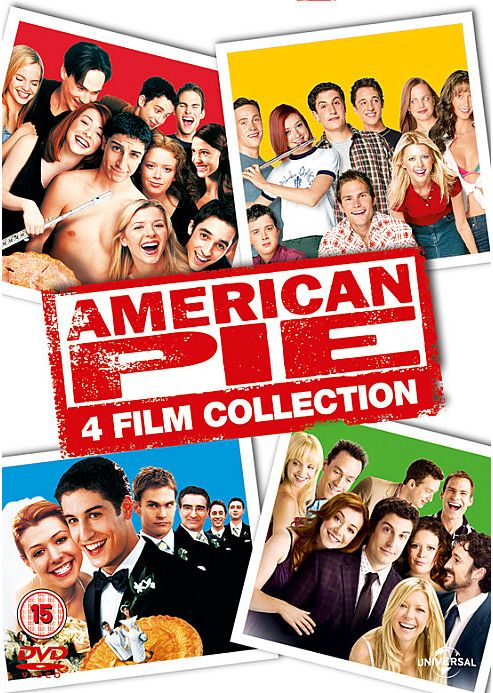 American Pie 1, 2, 3 And Reunion DVD Boxset With Uv