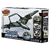 Air Hogs Hawk Eye Blue Sky RC Toy Helicopter