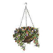 Smart Garden 30cm Artificial Bizzie Lizzie Hanging Basket